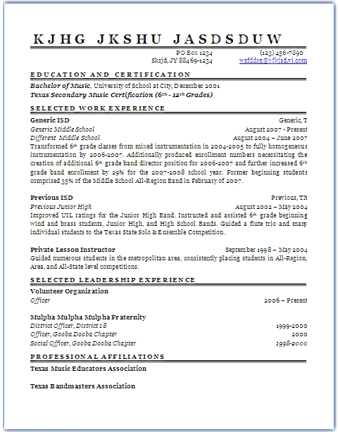 Opposenewapstandardsus  Prepossessing How To Polish Your Resume To Rack Up Job Interviews  So You Want  With Marvelous Generic Resume With Alluring Medical Billing Specialist Resume Also Assistant Director Resume In Addition Resume Example Pdf And Resume Example For Customer Service As Well As Bartending Resume Template Additionally Staff Auditor Resume From Soyouwanttoteachcom With Opposenewapstandardsus  Marvelous How To Polish Your Resume To Rack Up Job Interviews  So You Want  With Alluring Generic Resume And Prepossessing Medical Billing Specialist Resume Also Assistant Director Resume In Addition Resume Example Pdf From Soyouwanttoteachcom